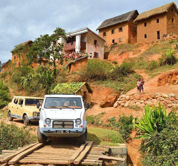 """Das Auto """"Made in Madagaskar""""- Mazana II"""